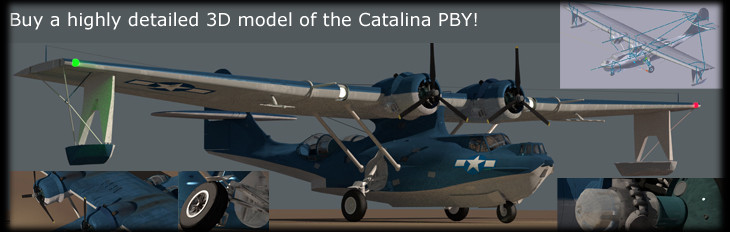 Consolidateed PBY Catalina 3D model